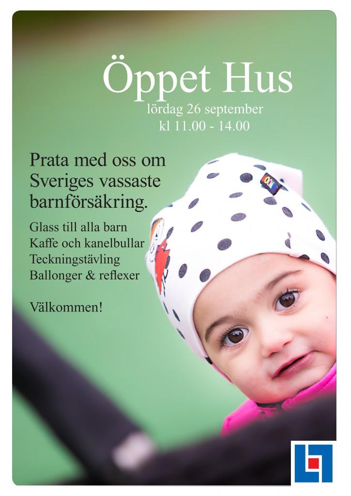 Affischer ÖPPET HUS med Neo och Noa 2-2