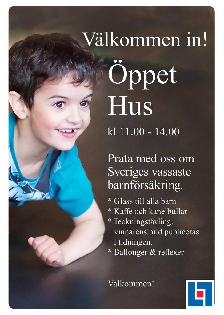 Affischer ÖPPET HUS med Neo och Noa 2-3